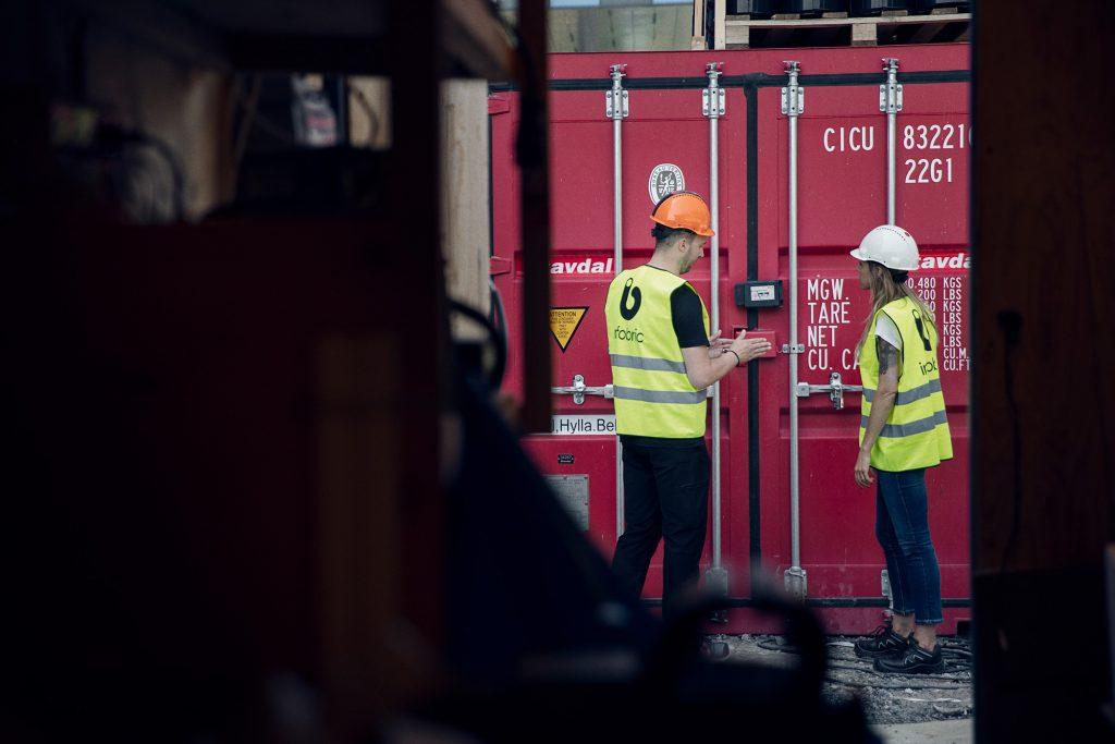 Containerlås adgangskontroll
