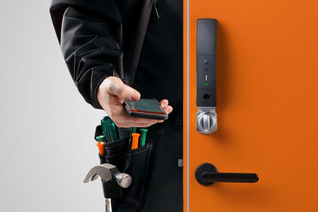 Adgangskontroll med smartlås